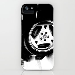 Aero Wheel, Saab 9-5 iPhone Case