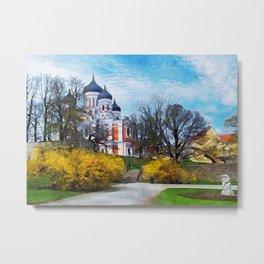Tallinn art 4 #tallinn #city Metal Print