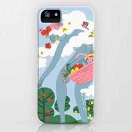 The Giantess iPhone Case