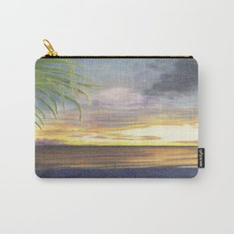 Beautiful Sunset at the Beach Carry-All Pouch