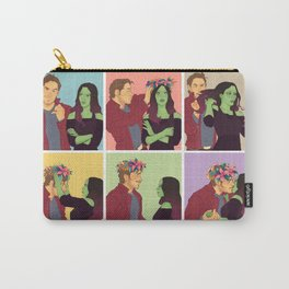 Cosmic Love like a Flower Carry-All Pouch