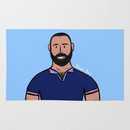 Beard Boy: David Ruiz Rug