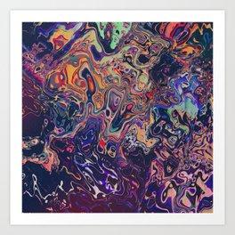 AURADESCENT Art Print