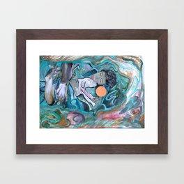 Held Framed Art Print