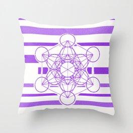 6th chakra Throw Pillow
