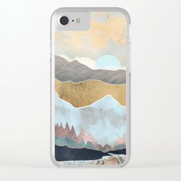Winter Light Clear iPhone Case
