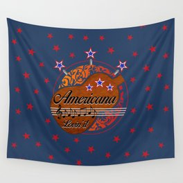 Americana - Lovin' it Wall Tapestry