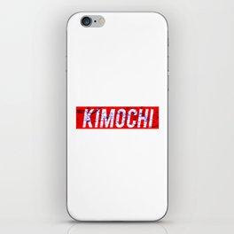 KIMOCHI BLUE BLOOD iPhone Skin