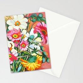Yellow Gerbera Stationery Cards