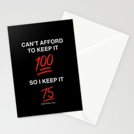 Keepin it 75 Stationery Cards