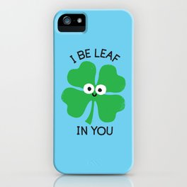Cloverwhelming Support iPhone Case