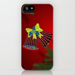 Christmas Bells iPhone Case