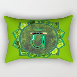 Anahata Natural Rectangular Pillow