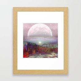 Dawn Painted Hills Framed Art Print
