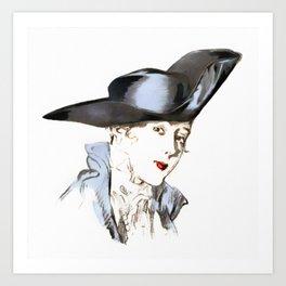 Hat from bygone Era Art Print
