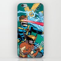 x men iPhone & iPod Skins featuring X-Men! by thechrishaley