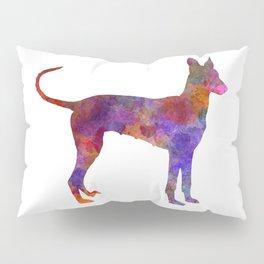 Cirneco dell Etna in watercolor Pillow Sham