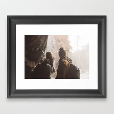 Hike Together Framed Art Print