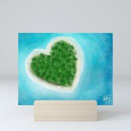 Love Island Mini Art Print