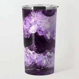 Amethyst Crystal Cave Travel Mug