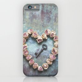 The key to your heart iPhone Case