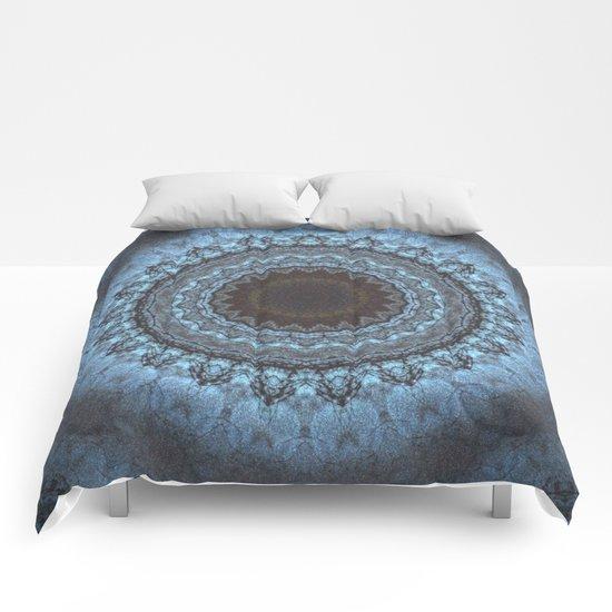 Bohemian Blue Comforters