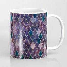 Mermaid Dark Purple Coffee Mug