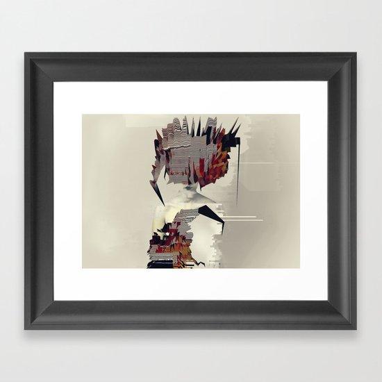 Malene Framed Art Print
