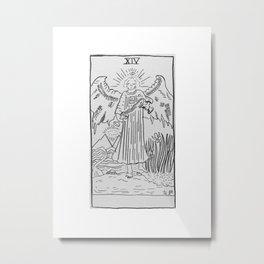Temperance Metal Print