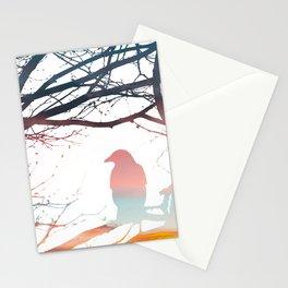 Sunrise Raven Stationery Cards