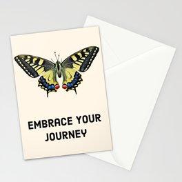 Embrace your journey Stationery Cards
