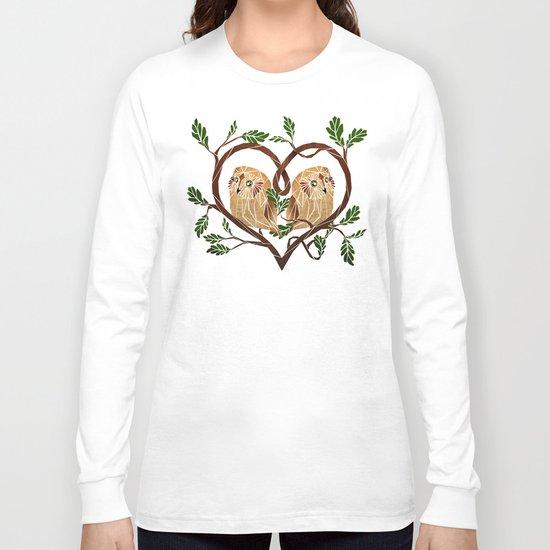 owl love Long Sleeve T-shirt