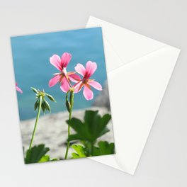 Lakeside Flowers I Stationery Cards