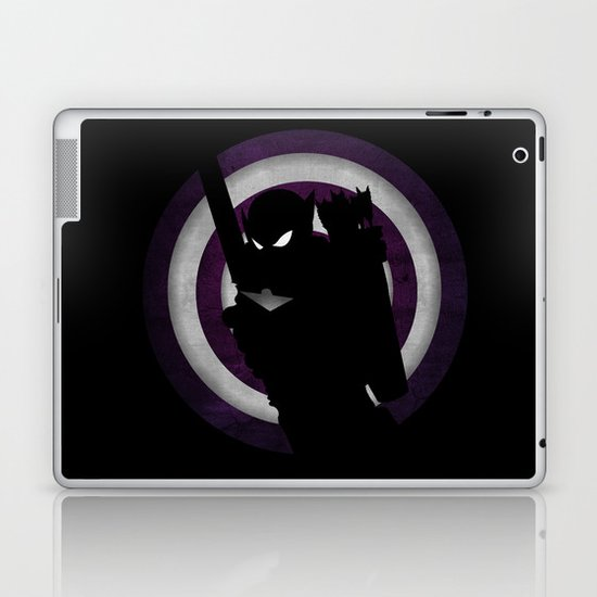 SuperHeroes Shadows : Hawkeye Laptop & iPad Skin