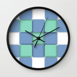 Sheltered Simplicity Wall Clock