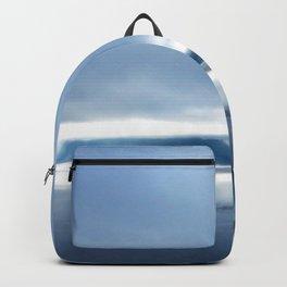 Soft winter sky Backpack