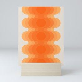 Echoes - Creamsicle Mini Art Print