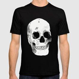 Skull in ink T-shirt