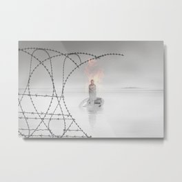 Our Good Will Has Limits.  Metal Print