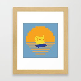 The Electrified Summer: In Search of the Perfect Thunder Wave Framed Art Print