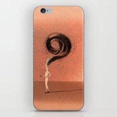 curly... iPhone & iPod Skin