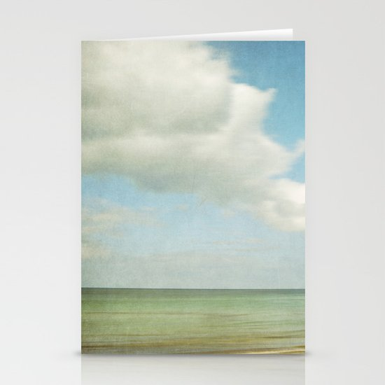 sea square IV Stationery Cards