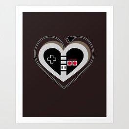 A Classic Love V.1 Art Print