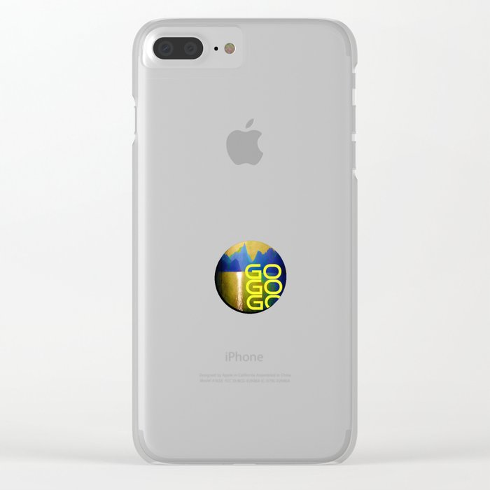 Almost Home Clear iPhone Case