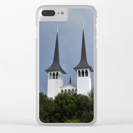 The Two Kingdoms Clear iPhone Case