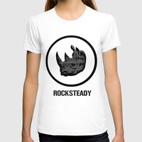 tmnt T-shirts featuring Rocksteady | TMNT by Silvio Ledbetter