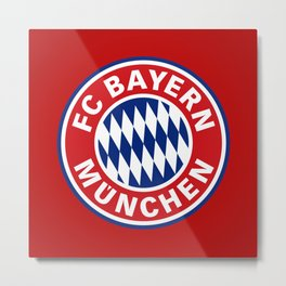 Bayern Munchen Metal Print