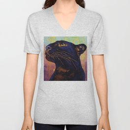 Panther Colors Unisex V-Neck
