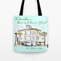 allyson johnson Tote Bags featuring Johnson Home by Cheryl Burkhardt