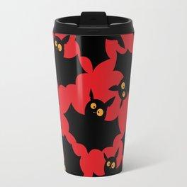 Halloween bats pattern Travel Mug